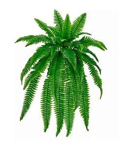 Folhagem Artificial Samambaia Verde 83cm