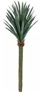 Planta Árvore Artificial Yucca Com Powder Verde 1,9m