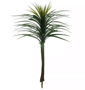 Planta Artificial Árvore Yucca X92 Folhas Verde 1,0m