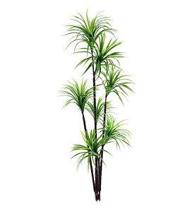 Planta Artificial Árvore Yucca Verde - 1,90m