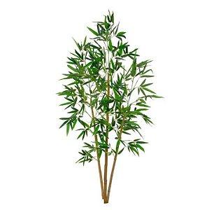 Planta Artificial Árvore Bambu Verde - 1,5m