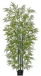 Planta Árvore Artificial Bambu Verde 1,9m