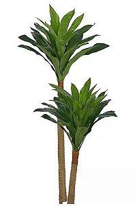 Planta Árvore Artificial Dracena Real Toque Verde 2 Tons 1,2m