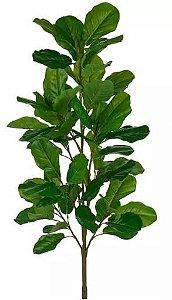 Planta Árvore Artificial Ficus Lyrata Verde 1,5m