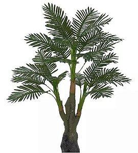 Planta Árvore Artificial Palmeira Real Toque Verde 1,35m