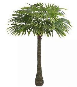 Planta Artificial Árvore Palmeira Leque Verde 1,9m