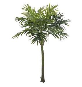 Planta Artificial Árvore Palmeira Real Toque Verde - 2,1m