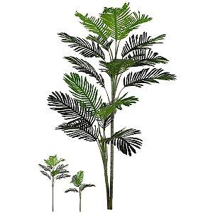 Planta Artificial Árvore Palmeira Areca 1,80m