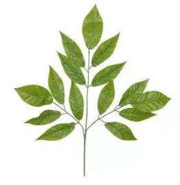 Folhagem Artificial Folha Verde 72cm