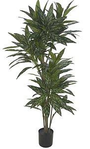 Planta Artificial A.Dracena Real Toque C/Pote X238 (Verde Creme) 1,9m