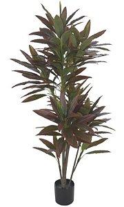 Planta Artificial A.Dracena Real Toque c/pote X238 (1,9 m)