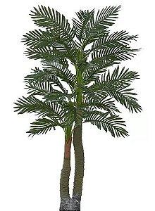Planta Árvore Artificial Palmeira Real Toque Verde 1,67m