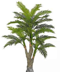 Planta Árvore Artificial Palmeira Real Toque Verde 2 Tons 1,67m