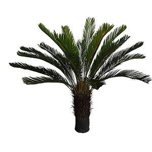 Planta Artificial Árvore Palmeira Cycas Verde 1,2m