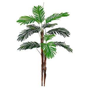 Planta Artificial Árvore Palmeira Real Toque Verde 1,6m