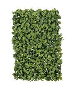 Folhagem Artificial Placa Grama Verde 2 Tons mod5
