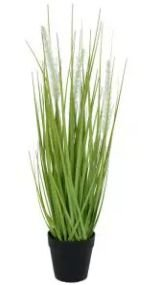 Arranjo Grass Artificial Verde Creme 53cm