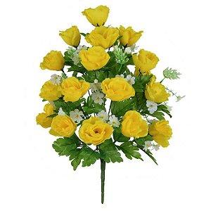 Buquê Rosa Amarelo 54 cm