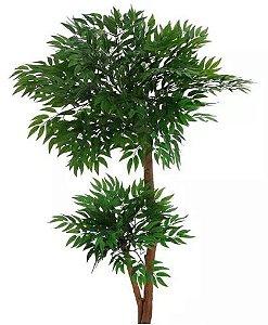 Planta Árvore Artificial Rucos Verde 1,1m