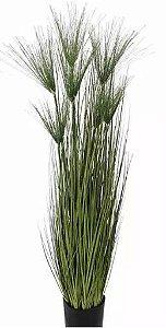 Planta Árvore Artificial Grass Papiro Verde 1,5m