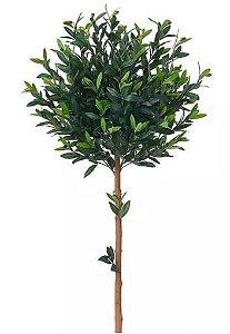 Planta Árvore Artificial Oliveira Verde 1,2m