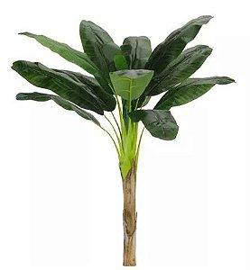 Planta Artificial Árvore Bananeira Real Toque Verde 1,6m