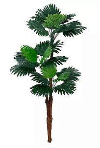 Árvore Artificial Palmeira Leque Verde 1,77m