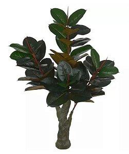 Árvore Artificial Ficus Elástica Verde 1,5m