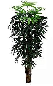 Árvore Artificial Palmeira Raphis Verde 1,2m
