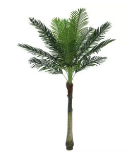 Árvore Artificial Palmeira Texturizado Verde 2,1m