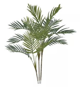 Árvore Artificial Palmeira Areca Real Toque Verde 90cm