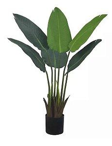 Árvore Artificial Bananeira de Jardim Verde 78cm