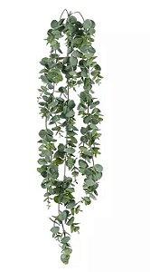 Folhagem Artificial Eucalipto Pendente Verde 77cm