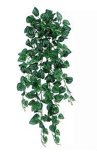 Folhagem Artificial Melancia Pendente Verde Creme 86cm