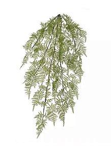 Folhagem Artificial Samambaia Pendente Real Toque Verde 90cm