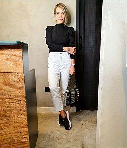Blusa Tricot Modal Cindy Preta