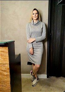 Vestido Alana Lurex  Silver (Prata)