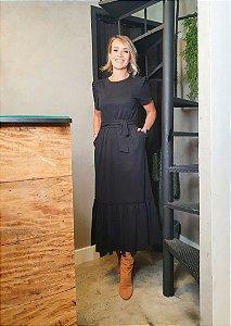 Vestido Kiwi Preto