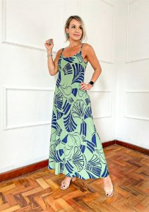 Vestido Melissa  Verde