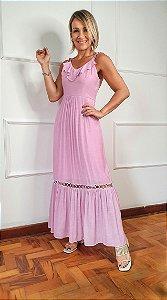 Vestido Valquiria Rosa
