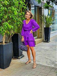 Vestido Nina Roxo