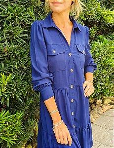 Vestido Mirta Azul