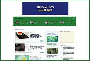 BillBoard 03 - Tam.: 970x250 pixels