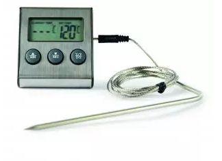 Termômetro Para Forno Com Haste Incoterm