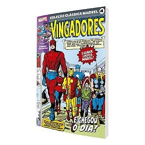 Coleção Clássica Marvel Vol.04 - Vingadores Vol.01