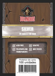 Sleeve Silver - Scythe / Rick and Morty (70x110) - Bucaneiros