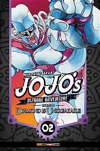 Jojo's Bizarre Adventure - Parte 04: Diamond is Unbreakable vol. 02