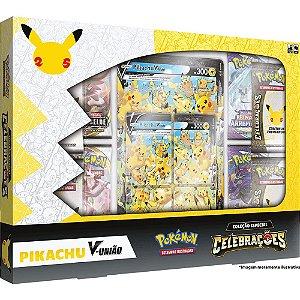 Box Pokémon Celebrações Pikachu V União