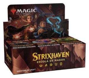 Caixa de Booster - Strixhaven - Booster de Draft