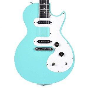 Guitarra  Epiphone Les Paul SL Turquoise